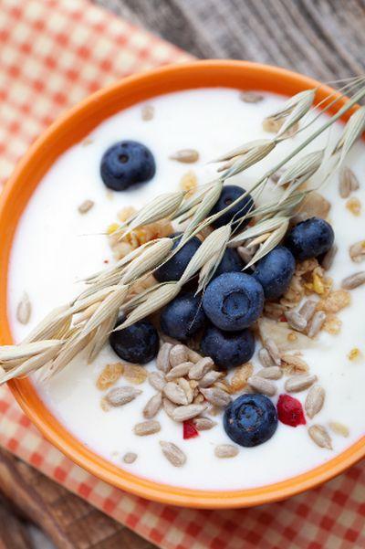 <B>VANILLA YOGURT:</b> Any yogurt containing fruit might be an obvious source of added sugar, but vanilla yogurt is just as bad. Astro Original Organic Vanilla Yogurt has 18 g sugar per 1/2 cup serving with organic sugar listed as the second ingredient.<BR><BR><B>Better option:</b> Rolling Meadow Dairy Plain Yogourt, 3.25% has 7 g sugar per 3/4 cup serving.