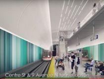 Green Line underground station