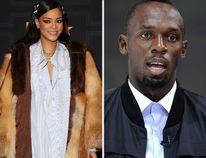 Rihanna and Usain Bolt. (WENN.COM)