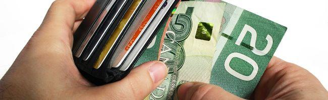 Money wallet Alberta sales tax NDP