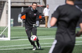 Goalkeeper Romuald Peiser of the Ottawa Fury FC has been one of the few bright spots on the team so far this season. (Wayne Cuddington/Postmedia Network)