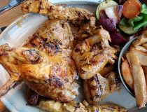 Nando's peri-peri chicken variety platter