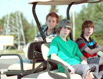 Sleeping Giant features Jackson Martin, Reece Moffett and Nick Serino.(Photo: Canadian Press)
