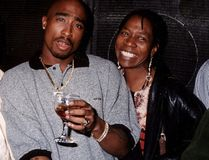 "Tupac Shakur with his mother, Afeni. (<A HREF=""http://www.wenn.com"" TARGET=""newwindow"">WENN.COM</a>)"