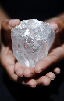 diamond the size of a tennis ball