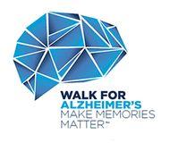 The Walk for Alzheimer's logo.