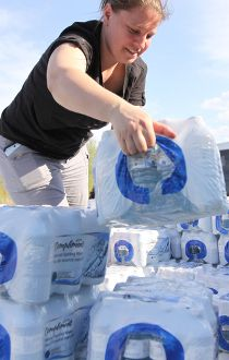 Beaver Lake volunteer Missy Jacknife