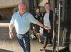 Bruce Boudreau and his daughter Kasey at an Ottawa hotel. (Wayne Cuddington, Postmedia Network)
