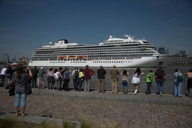 Viking Ocean Cruises Launches New Ship Beacon Herald - Cruise ship in london