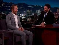 "Ryan Gosling on ""Jimmy Kimmel Live."""