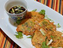 Korean Pancakes with Soy Dipping Sauce. (MORRIS LAMONT, The London Free Press)