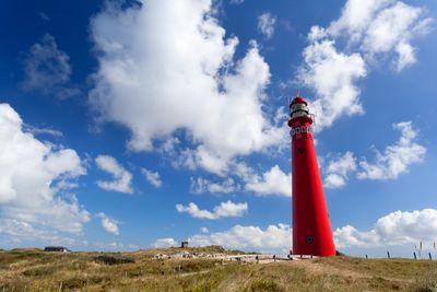 Red lighthouse on Schiermonnikoog, an island, a municipality and a national park in Netherlands's Frisian Islands. CHRISTINA BLIZZARD/TORONTO SUN