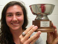 Cindy Nelles, Belleville's 2015 Athlete of the Year. (Paul Svoboda/The Intelligencer)