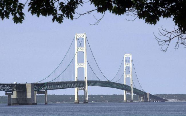 Mackinac Bridge (Associated Press)