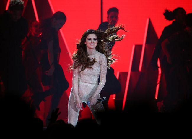 Selena Gomez performs at the Scotiabank Saddledome on Tuesday May 17, 2016. GAVIN YOUNG/POSTMEDIA