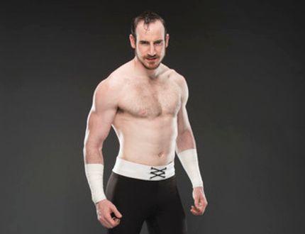 World Wrestling Entertainment superstar and one half of The Vaudevillains, Aiden English. (Courtesy World Wrestling Entertainment)