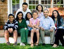A multi-generational family. (Photo credit: David Sacks)