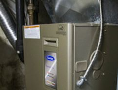 A gas furnace in a Toronto home (Ernest Doroszuk/Toronto Sun/Postmedia Network)