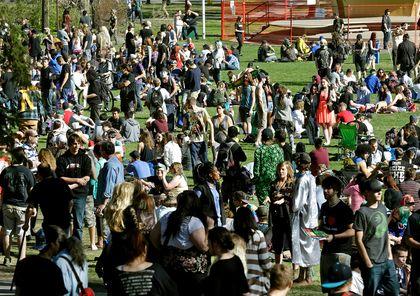 Marijuana rally 420