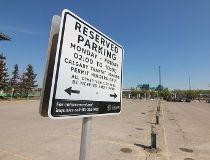 Calgary Transit park and ride