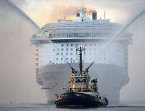 Harmony of the Seas arrives in Southampton