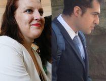 Mandi Gray, left, and Mustafa Ururyar. (Stan Behal/Toronto Sun and Aileen Donnelly/Postmedia)