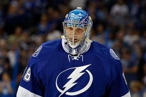 Tampa Bay Lightning netminder Andrei Vasilevskiy