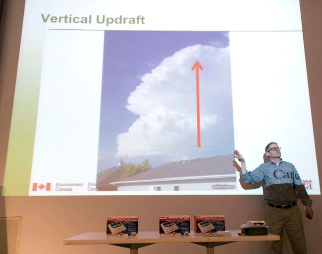 Environment Canada's warning preparedness meteorologist Geoff Coulson. (FILE PHOTO)