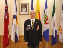 First Vice Rick Shropshall at the Royal Canadian Legion in Clinton. (Justine Alkema/Clinton News Record)