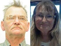 Michael Arsenault, 55, and Geralyn Plaviak