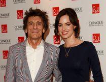 Ronnie Wood and wife Sally Humphreys. (WENN.COM file photo)