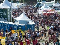 Folk festival beer garden lineups