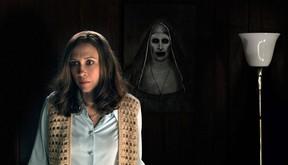 "Vera Farmiga in a scene from the New Line Cinema thriller, ""The Conjuring 2."""