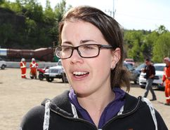 John Lappa/Sudbury Star Lynne Bouchard Thompson was Ontario's first female mine rescue captain.