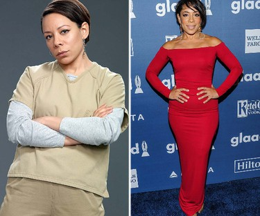 Gloria Mendoza, played by Selenis Leyva. FUN FACT: Leyva was born in Cuba and raised in the Bronx, New York. (Handout/WENN.COM)