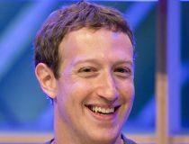 Mark Zuckerberg and a lizard