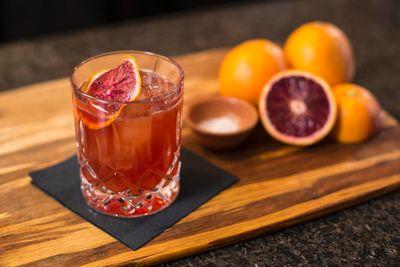 "<p><b>SMOKY CITRUS</b></p> <p><i>Recipe courtesy of Sunkist and <A HREF=""http://www.barbegonia.com/"" TARGET=""newwindow"">Bar Begonia</a>'s Oliver Stern</i></p> <p><b>Ingredients:</b></p>  <ul>     <li>1 oz. blood orange juice</li>     <li>1/2 oz. jalapeno-infused tequila</li>     <li>1/2 oz. mezcal</li>     <li>3/4 oz. Italian aperitif</li>     <li>3/4 oz. Italian digestif</li> <li>Pinch of salt</li> <li>Dehydrated blood orange wheel</li> </ul> <p><b>Method:</b></p> <p>Measure the blood orange juice, jalapeno-infused tequila, mezcal, Italian aperitif, Italian digestif and salt into a cocktail shaker. Fill with ice, cap and shake. Pour into an old fashioned glass. Garnish with a dried blood orange wheel.</p>"
