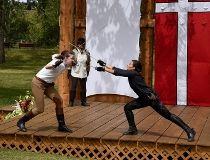 Hamlet in the park