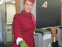Alitalia flight attendant