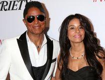 """Jermaine Jackson and Halima Rashid. (Nicky Nelson/<A HREF=""""http://www.wenn.com"""" TARGET=""""newwindow"""">WENN.COM</a>)"""