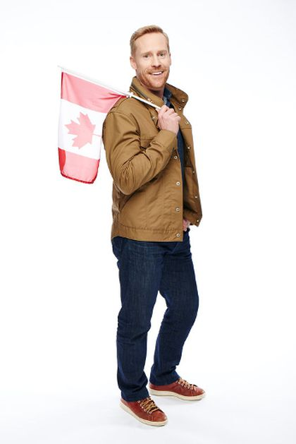Amazing Race Canada host Jon Montgomery