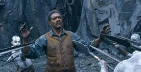 """Samuel L. Jackson in a scene from """"The Legend of Tarzan."""""""