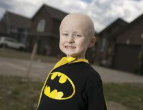 Mason Macri wears his batman shirt and cape at his Lakeshore home on Aug. 1, 2015. Dax Melmer / Windsor Star