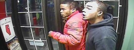 Liquor store robbery shooting