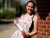 Bonnie Germain, owner of the home-based business The Pastry Queen, on Tuesday June 28, 2016 in Grande Prairie, Alta. Jocelyn Turner/Grande Prairie Daily Herald-Tribune/Postmedia Network