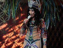"Cher performs in concert at TD Garden on April 9, 2014 in Boston, Massachusetts. (<A HREF=""http://www.wenn.com"" TARGET=""newwindow"">WENN.COM</a>)"