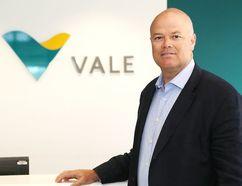 Stuart Harshaw is vice-president of Ontario operations at Vale in Sudbury. (John Lappa/Sudbury Star)