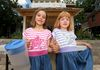 Eliza Andrews, 7 and her little sister, Adela, 5.