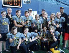 The Interlake Thunder junior women's football team stunned the North Winnipeg Nomads 19-8 in the Manitoba Girls Football Association junior championship at Investors Group Field June 30. (Flickr)