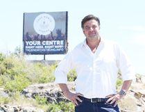 Sudbury businessman Dario Zurich stands near the proposed site of the proposed True North Centre. (Gino Donato/Sudbury Star)